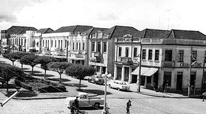 Erechim - Maurício Cardoso Square in 1920's