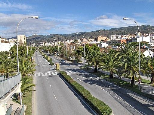 Avenida Santiago Ramón y Cajal, Málaga