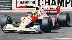 Senna, az 1991-es Monacói Nagydíjon