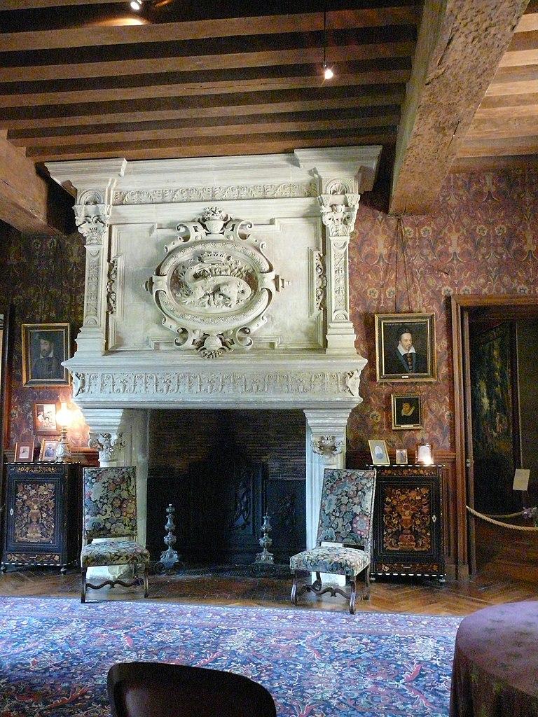 file azay le rideau salon wikimedia commons. Black Bedroom Furniture Sets. Home Design Ideas