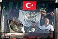 Azez'den Akçakale'ye gelen ve Geçici Barınma Merkezi'ne getirilen ÖSO konvoyu.jpg