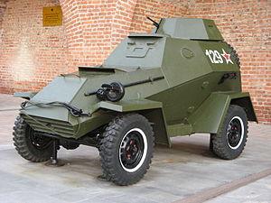 BA-64 - BA-64B armoured car in Nizhniy Novgorod Kremlin, Russia.