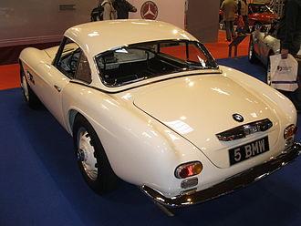 BMW 507 - BMW 507 with optional detachable hardtop