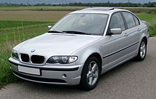BMW E46 sedan - facelift