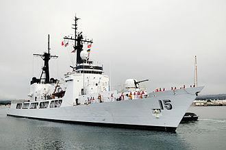Gregorio del Pilar-class frigate - Image: BRP Goyo Hawaii
