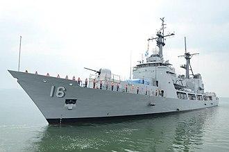 Gregorio del Pilar-class frigate - Image: BRP RAMON ALCARAZ