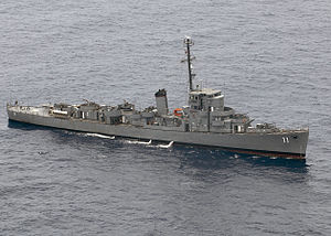 Cannon-class destroyer escort - BRP Rajah Humabon (PF-11) of the Philippine Navy