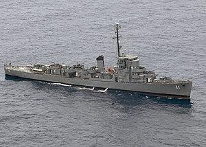 BRP Rajah Humabon (PS-11) - BRP Rajah Humabon c. 2009