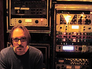 Butch Vig - Butch Vig in Madison's Smart Studios.