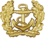BW Schirmmütze Marine Gold