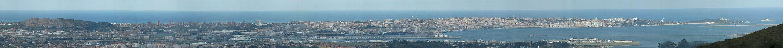 Вид на Сантандерскую бухту