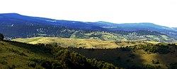 Baisoara vazuta de la Scarita-Belioara - panoramio.jpg