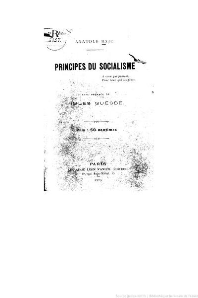 File:Baju - Principes du socialisme, 1895.djvu