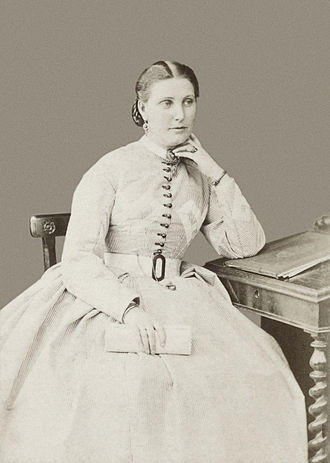 Florence Baker - Florence, Lady Baker c. 1875