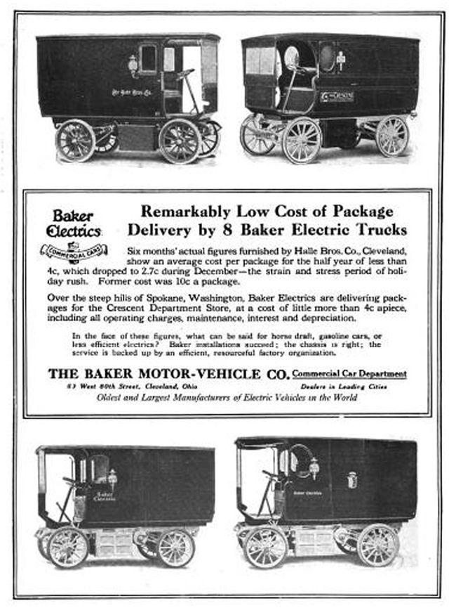 Baker Motor Vehicle Company