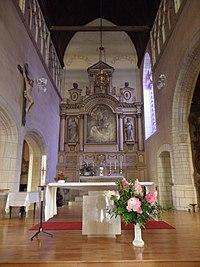 Balazé (35) Église Saint-Martin Intérieur 06.jpg