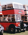 Bamber Bridge Motor Services bus 4 (UTC 672) 1955 AEC Regent III East Lancs, 2001.jpg