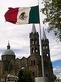 Bandera en la Basílica de Apizaco.jpg