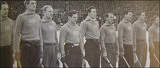 Sweden national bandy team - The Swedish team in 1947