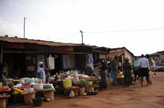Bangangté - Marché A in Bangangté, Cameroon