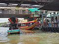 Bangkok along the Chao Phraya and Wat Arun (15065259661).jpg