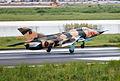 Bangladesh Air Force Nanchang A-5 906 Landing (8174032390).jpg