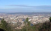 Panoramic view of Banja Luka