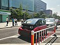 Baojun E300 test car in Sangtian Island (front).jpg