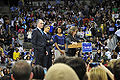 Barack and Michelle Obama, Bob Casey, Teresa Heinz at Rally.jpg