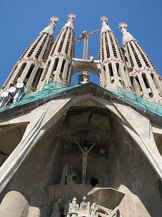 Barcelona, Sagrada Familia, zdroj: wikipedia.cs
