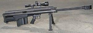 Barrett XM500 - The Barrett XM500 with a bipod attached