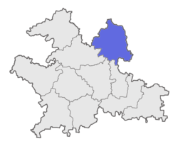 Location of Barshi Taluka in Solapur District