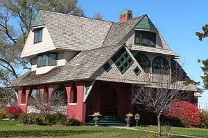 National Register of Historic Places listings in Buffalo County, Nebraska - Image: Bartlett House (Kearney, Nebraska) 2