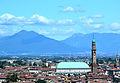 Basilica Palladiana, view from monte berico.JPG
