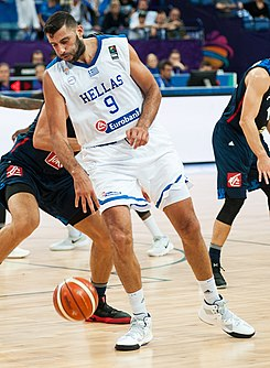 Basketball match Greece vs France on 02 September 2017 01 (Ioannis Bourousis cropped).jpg