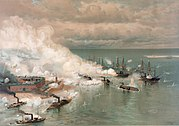 Bataille de la baie de Mobile par Louis Prang (1824-1909).jpg