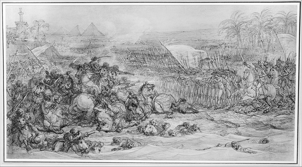 Battle of the Pyramids, July 21, 1798 MET 150804