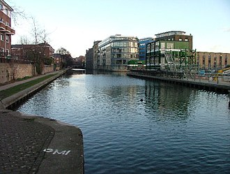 Kings Cross, London - Battlebridge Basin