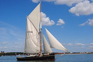 Bawley - Image: Bawley Doris LO 284 from leigh on sea built at Harwich in 1909