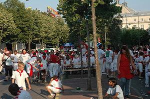 Feria (festival) - Festayres during the fêtes de Bayonne