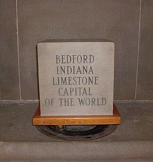 Indiana Limestone limestone quarried in Indiana, United States
