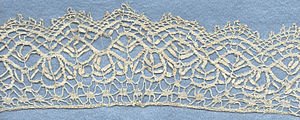 Bedfordshire lace - Bobbin lace made in the English Midlands