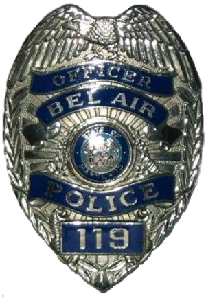 Bel Air Police Department - Image: Bel Air Police Badge