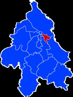 Zvezdara Municipality in Belgrade, Serbia