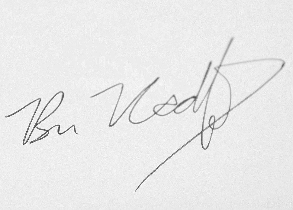Ben Radford Signature