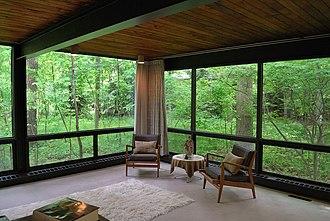Ben Rose House - Image: Ben Rose House interior