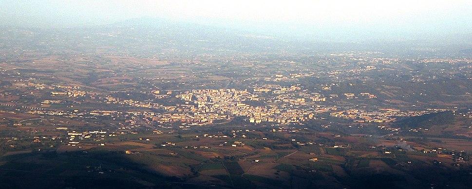 Benevento (Panoramic from Taburno)