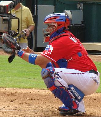 Bengie Molina - Molina with the Texas Rangers