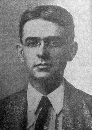 Allan L. Benson - Allan Louis Benson in 1907