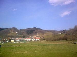 Bera, Navarre - Bera seen from its south side